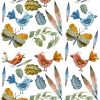 Bright Colorful Nature Icons  Birds ~ 566495470 ~ Ceramic Decal ~ Glass Decal ~ Enamel Decal ~ Waterslide Transfers - LEAD FREE & Food Safe